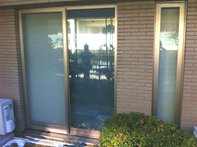 窓の地震対策 飛散防止フィルム工事 名古屋市