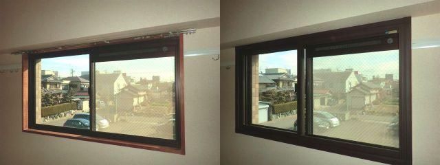 結露対策 防音対策 断熱対策 トステム製二重窓インプラス 名古屋市
