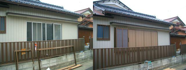 雨戸新設工事 防音対策、防犯対策に 名古屋市