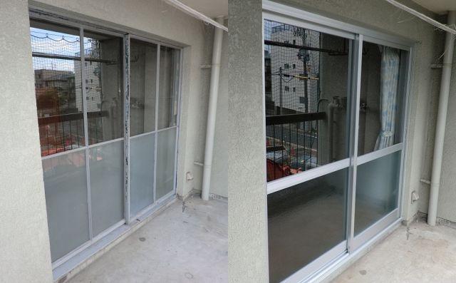 マンションの網戸取り付け 名古屋市