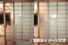 室内建具ガラス修理、交換 名古屋市