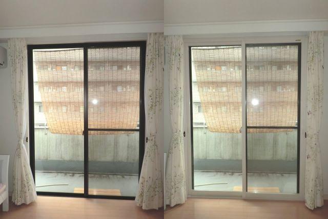 二重窓 トステム製インプラス 防音対策 節電対策 名古屋市