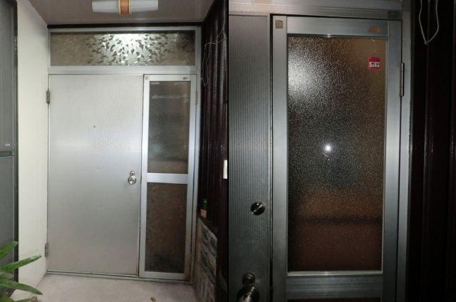 防犯ガラス取替え 玄関ドアの防犯対策 名古屋市