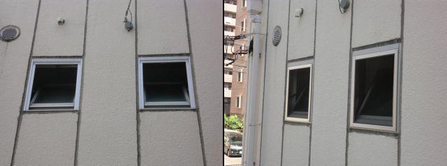 網戸新規製作 内倒し窓 名古屋市