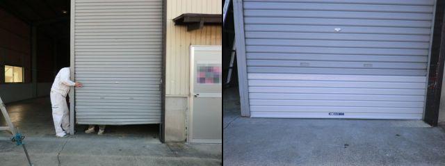 倉庫ガラス修理、交換 名古屋市