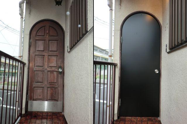 玄関ドアリフォーム工事 名古屋市