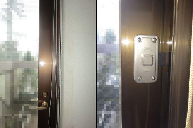 ドアの防犯対策 1ドア2ロック 補助錠取付工事 名古屋市