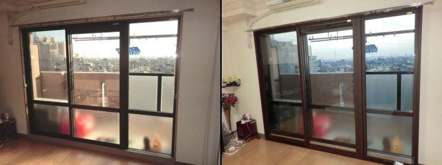 結露対策、断熱対策 樹脂製内窓インプラス 岩倉市