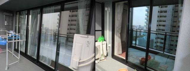 マンション網戸新規製作、取付工事 名古屋市
