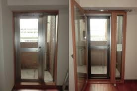テラスドアにも二重窓インプラス 防犯対策 結露対策 断熱対策 名古屋市