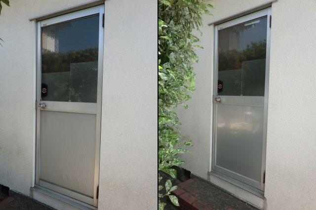ドアの防犯対策工事 名古屋市