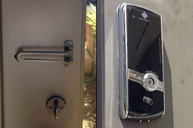 玄関ドアの防犯対策 電子錠取付工事 スマートカード対応 名古屋市
