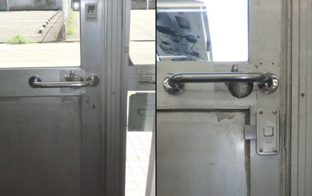 ドアの錠前取付工事 名古屋市
