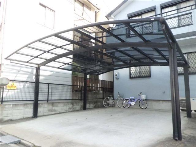 カーポート屋根修理、交換 エクステリア工事 名古屋市