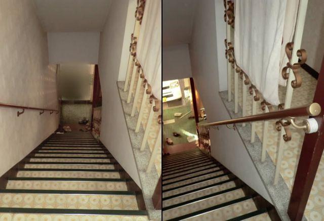 階段手すり設置工事 名古屋市