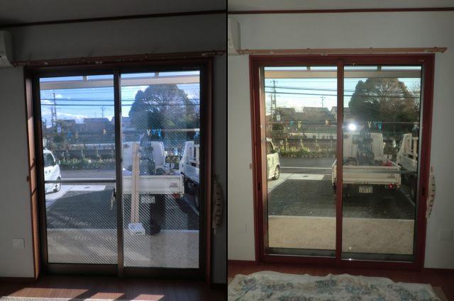 窓の防音対策、結露対策に トステム製内窓インプラス 清須市