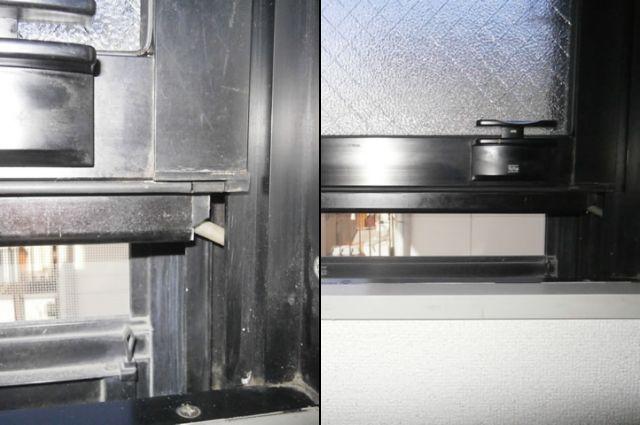 トステム 上下窓PRO−70EA 部品修理、交換 名古屋市