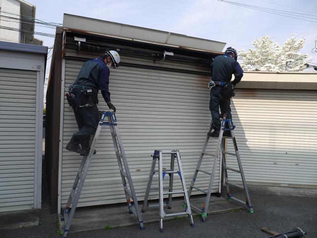 シャッターの開閉が重い シャッター補修工事 名古屋