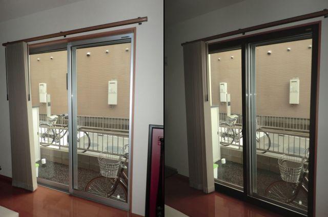 窓の防音対策 LIXIL内窓インプラス 結露対策、防犯対策にも 岩倉市