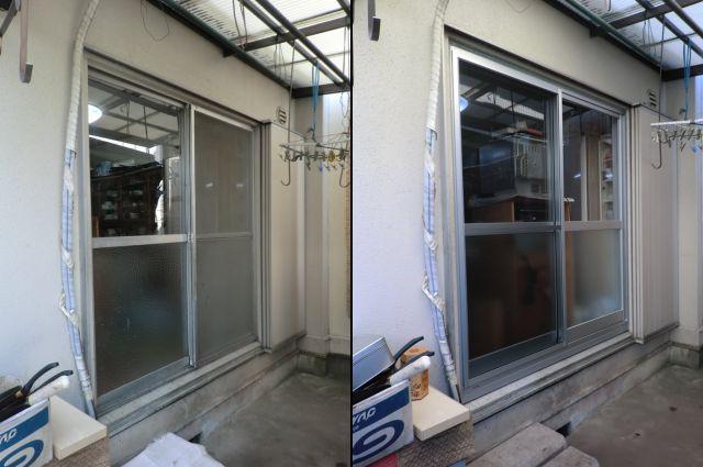 窓サッシの取替工事 カバー工法 名古屋