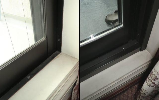 カバー工法によるサッシ取替工事 ペアガラスで断熱効果アップ 名古屋市