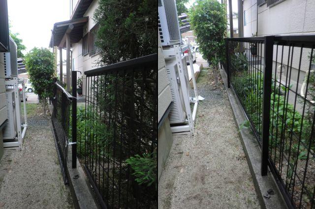 フェンスの補修工事 修理、交換 名古屋市