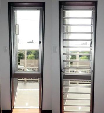 室内面格子取付工事 CPマークの防犯建物部品で安心 名古屋市