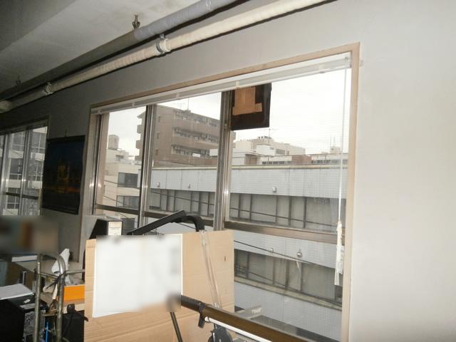 ブラインド取替工事 夏の日差し対策に タチカワブラインド ヨコ型シルキー 名古屋市