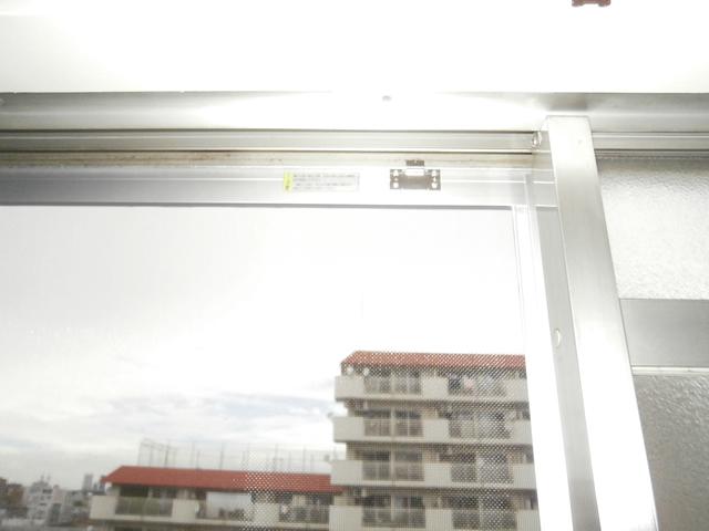 ビル用サッシの網戸新設工事 名古屋市
