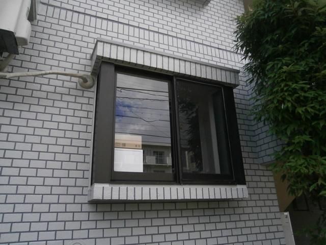 網戸新設工事 ビル用サッシの網戸 名古屋市