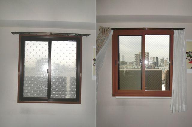 窓の結露対策で二重窓インプラス 名古屋市瑞穂区
