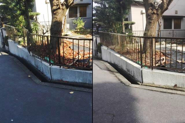 フェンス補修工事 三協立山 ニュー速川1型 名古屋市緑区