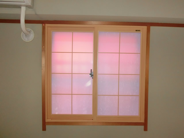 LIXIK内窓インプラス工事 冬の寒さ対策、結露対策 名古屋市瑞穂区