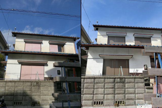 雨戸本体取替工事 断熱効果、遮音効果 防犯対策 名古屋市緑区