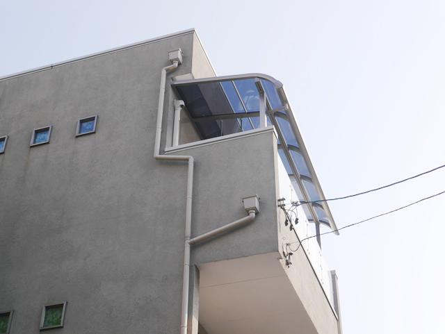 ベランダテラス屋根工事 LIXILパワーアルファ 名古屋市東区