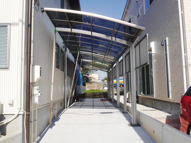 カーポート2台用 三協立山カムフィNexR奥行連結 名古屋市緑区