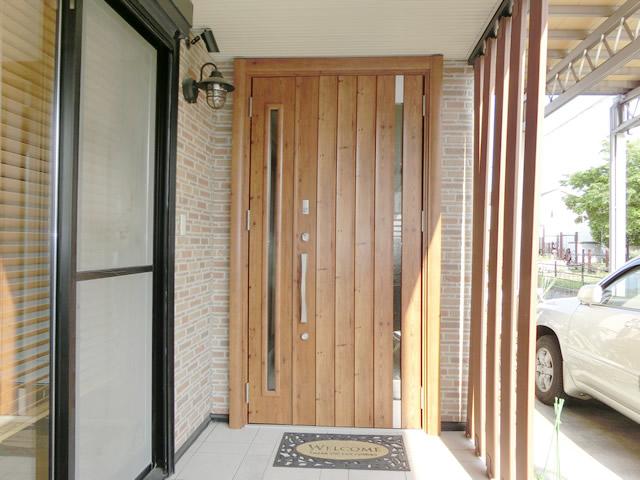 玄関ドアリフォーム LIXILリシェント800型 簡易タッチシステム 名古屋市東区