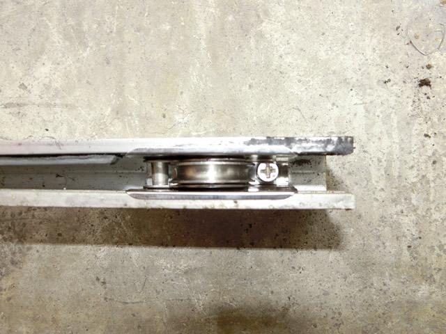 サッシ戸車交換 分譲マンションのサッシ改修工事 名古屋市南区
