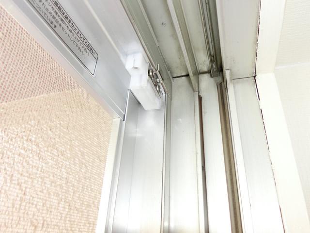 マンション網戸新設工事 掃出し窓用網戸<1> 名古屋市南区