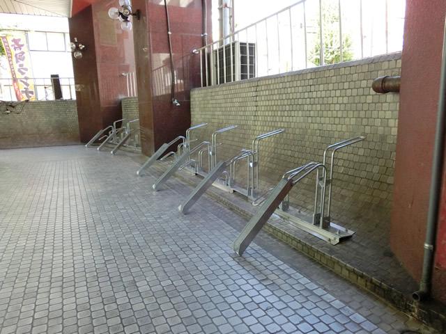 サイクルラック取付工事 名古屋市中区