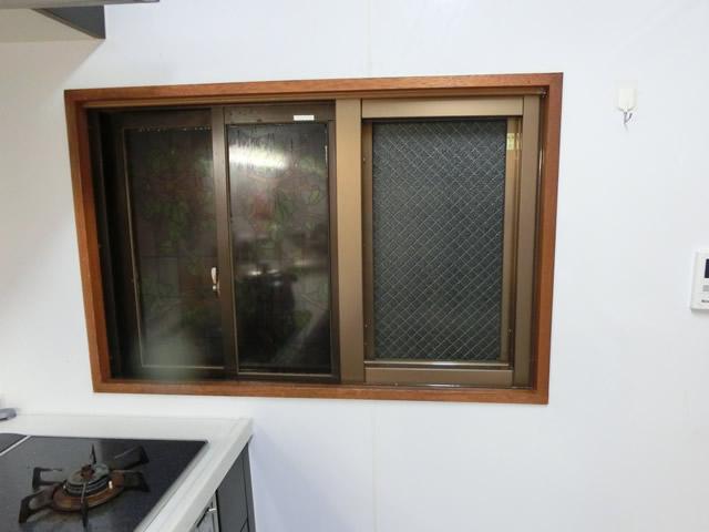 サッシ改修工事 カバー工法でFIX窓へ 名古屋市瑞穂区