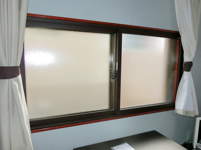 窓の断熱対策、結露対策に リクシル内窓インプラス 名古屋市緑区