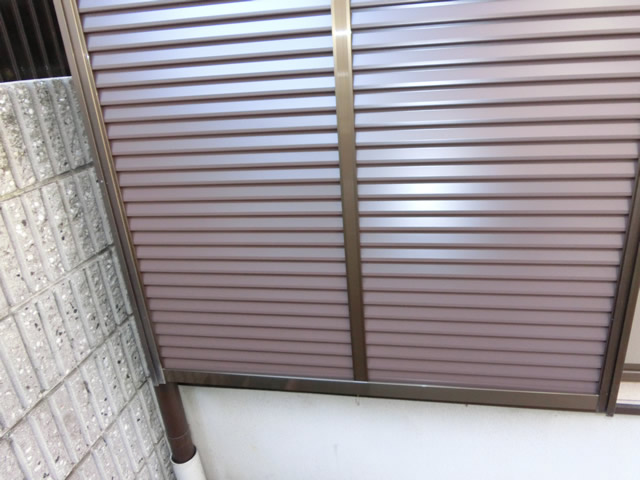 トーヨーサッシ製 雨戸取替工事 名古屋市港区