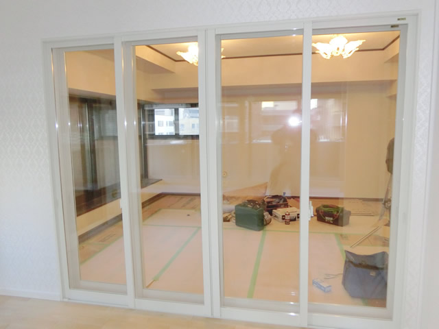 窓の防音対策、結露対策 LIXIL内窓インプラス<2> 名古屋市東区