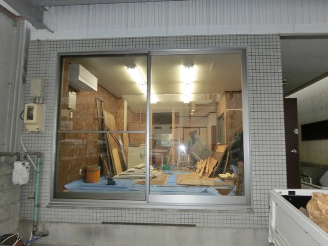 窓・サッシのリフォーム アルミサッシ取替工事 名古屋市中区