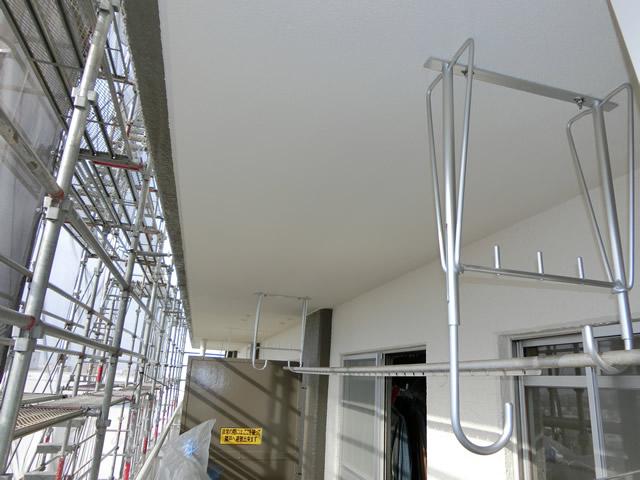 バルコニー物干金物取付工事 名古屋市港区