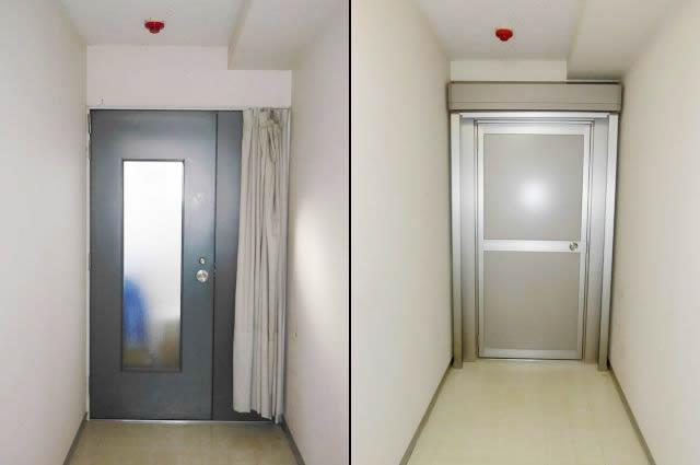 事務所の防犯対策 リクシル土間シャッター<1> 名古屋市名東区