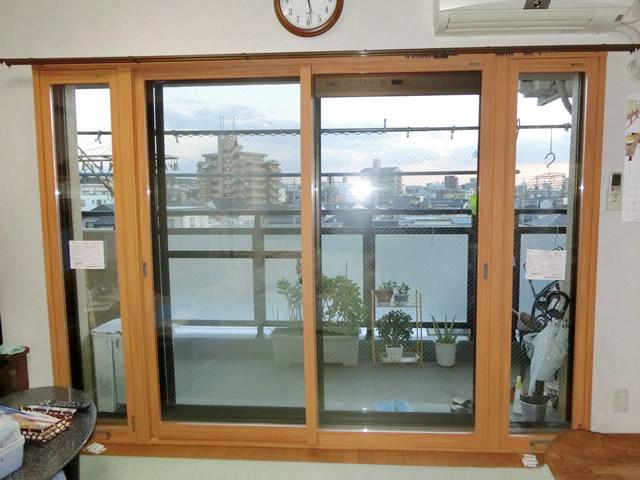 窓の結露対策 リクシル内窓インプラス<1> 名古屋市天白区