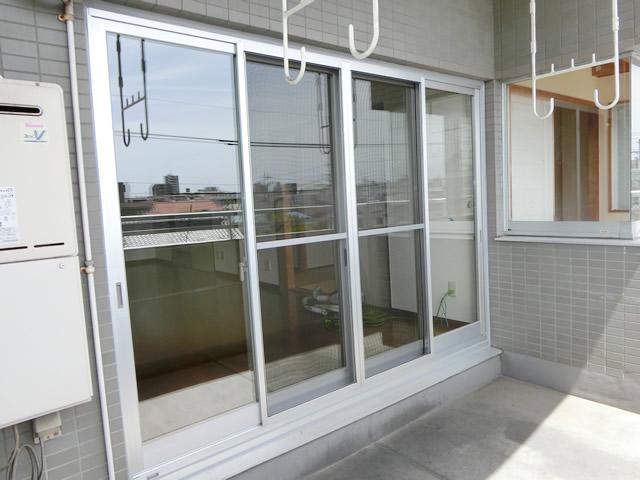 窓のリフォーム カバー工法によるサッシ取替え工事 名古屋市昭和区