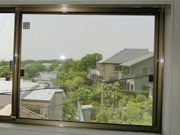 窓の防犯対策 防犯ガラス取替え工事 名古屋市守山区